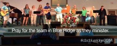 Calvary on mission in Blue Ridge 2014