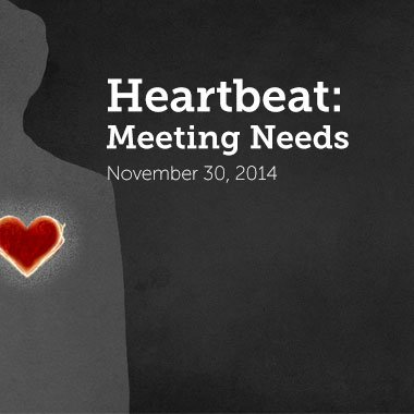Heartbeat of Calvary is Meeting Needs