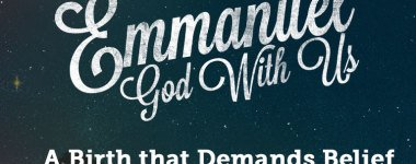Emmanuel God With Us