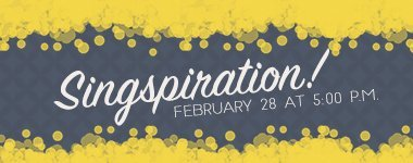 Singspiration | Calvary Baptist Church