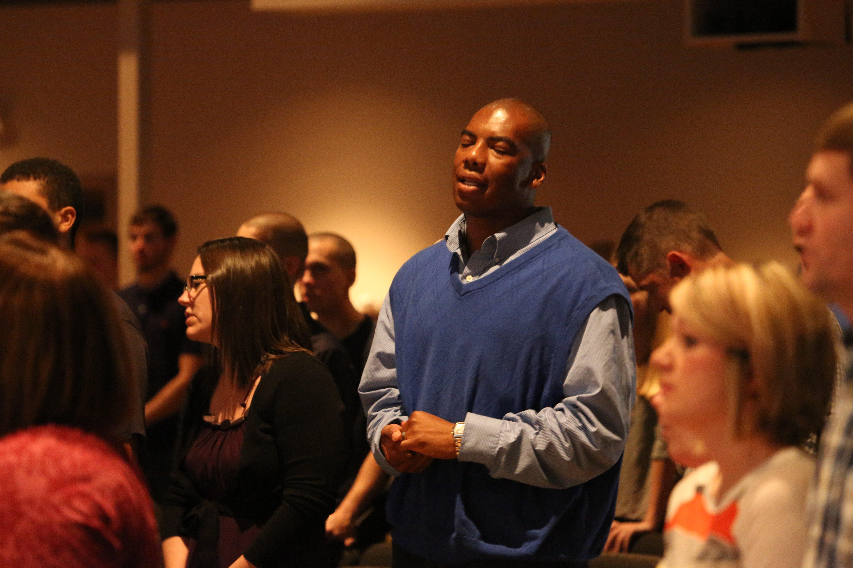 Tam Green in Worship
